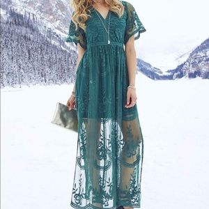 Altar'd State Marionette Maxi Dress Size Small